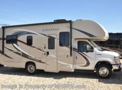 New 2018  Thor Motor Coach Chateau 23U RV for Sale @ MHSRV W/15K A/C & Stabilizing by Thor Motor Coach from Motor Home Specialist in Alvarado, TX