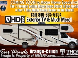 New 2018  Thor Motor Coach Four Winds 29G Class C RV for Sale W/Ext Kitchen & TV, Jacks by Thor Motor Coach from Motor Home Specialist in Alvarado, TX
