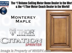 New 2018  Thor Motor Coach Chateau Citation Sprinter 24ST for Sale @ MHSRV W/Theater Seats & Heat Pump by Thor Motor Coach from Motor Home Specialist in Alvarado, TX