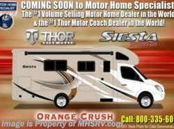 New 2018  Thor Motor Coach Four Winds Siesta Sprinter 24SR RV for Sale @ MHSRV W/Stabilizing by Thor Motor Coach from Motor Home Specialist in Alvarado, TX
