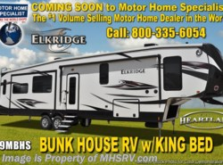 New 2018  Heartland RV ElkRidge 39MBHS Bunk House RV W/ 2 A/Cs, Ext Grill, Jacks by Heartland RV from Motor Home Specialist in Alvarado, TX