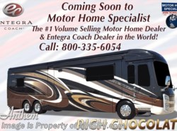 New 2018  Entegra Coach Anthem 44F Bath & 1/2 Luxury RV W/Theater Seating, Solar by Entegra Coach from Motor Home Specialist in Alvarado, TX