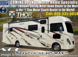 New 2018  Thor Motor Coach A.C.E. 32.1 ACE W/2 Full Baths, Ext TV, 2 A/C, 5.5KW Gen by Thor Motor Coach from Motor Home Specialist in Alvarado, TX
