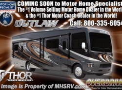 New 2018  Thor Motor Coach Outlaw 37GP Toy Hauler for Sale @ MHSRV W/2 Patio Decks by Thor Motor Coach from Motor Home Specialist in Alvarado, TX