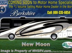 New 2018  Forest River Berkshire 39A Bath & 1/2 Luxury RV W/Theater Seats, Sat by Forest River from Motor Home Specialist in Alvarado, TX
