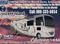 New 2018  Thor Motor Coach Hurricane 27B for Sale at MHSRV W/5.5KW Gen & 2 A/Cs by Thor Motor Coach from Motor Home Specialist in Alvarado, TX