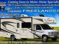 New 2018  Coachmen Freelander  27QBC for Sale at MHSRV W/15K A/C, Ext TV by Coachmen from Motor Home Specialist in Alvarado, TX