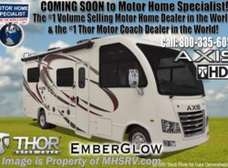 New 2018  Thor Motor Coach Axis 25.6 RUV for Sale @ MHSRV.com W/ Stabilizers by Thor Motor Coach from Motor Home Specialist in Alvarado, TX