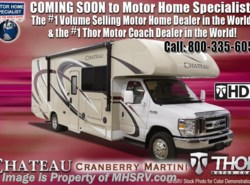 New 2018  Thor Motor Coach Chateau 25V RV for Sale at MHSRV W/ Ext TV, 15K A/C, 3 Cam by Thor Motor Coach from Motor Home Specialist in Alvarado, TX