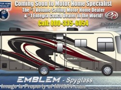 New 2019  Entegra Coach Emblem 36U Bath & 1/2 Luxury RV W/Res Fridge, King, W/D by Entegra Coach from Motor Home Specialist in Alvarado, TX
