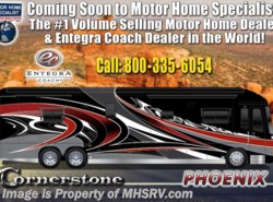 New 2019  Entegra Coach Cornerstone 45A Bath & 1/2 W/Booth, Theater Seats, Stonewall by Entegra Coach from Motor Home Specialist in Alvarado, TX