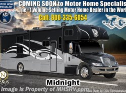 New 2019  Nexus Wraith 34W International Diesel RV W/ King, Sat, Ext TV by Nexus from Motor Home Specialist in Alvarado, TX