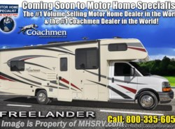 New 2019  Coachmen Freelander  28BH Salon Bunk Model W/Stabilizers, 15K BTU A/C by Coachmen from Motor Home Specialist in Alvarado, TX