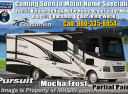New 2019  Coachmen Pursuit 32WC W/2 A/C, 5.5KW Gen, King Bed, W/D by Coachmen from Motor Home Specialist in Alvarado, TX