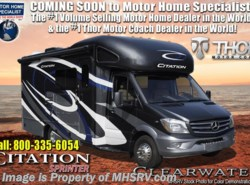 New 2019  Thor Motor Coach Chateau Citation Sprinter 24SJ RV W/Summit Pkg, Dsl Gen & Stabilizers by Thor Motor Coach from Motor Home Specialist in Alvarado, TX