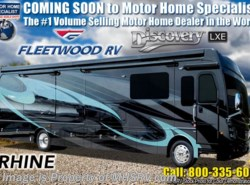 New 2019  Fleetwood Discovery LXE 40G Bunk Model RV W/ Tech Pkg, King, Aqua Hot by Fleetwood from Motor Home Specialist in Alvarado, TX