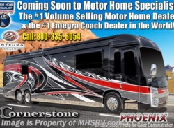 New 2019  Entegra Coach Cornerstone 45X Luxury RV W/WiFi, Solar, Theater Seating by Entegra Coach from Motor Home Specialist in Alvarado, TX