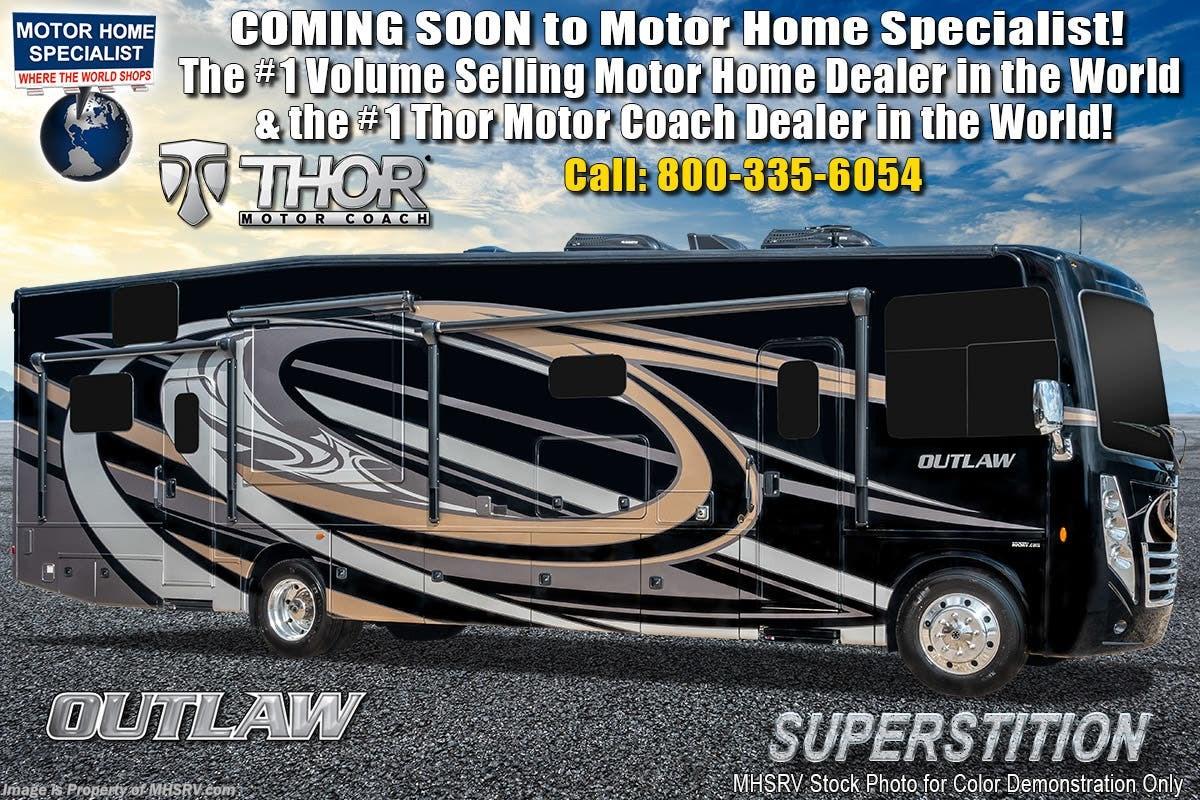 2019 Thor Motor Coach RV Outlaw 37RB Toy Hauler RV W/ Garage Sofa, Patio  Deck for Sale in Alvarado, TX 76009 | JTH061871111TH
