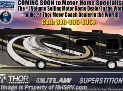 New 2019  Thor Motor Coach Outlaw 37RB Toy Hauler RV W/ Garage Sofa, Patio Deck by Thor Motor Coach from Motor Home Specialist in Alvarado, TX