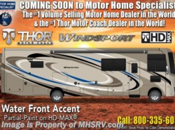 New 2019  Thor Motor Coach Windsport 34R RV for Sale W/ Theater Seats, King, Res Fridge by Thor Motor Coach from Motor Home Specialist in Alvarado, TX