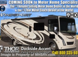 New 2019  Thor Motor Coach Windsport 34R RV for Sale W/ Theater Seats, King & Res Fridg by Thor Motor Coach from Motor Home Specialist in Alvarado, TX