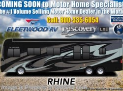New 2019 Fleetwood Discovery LXE 44B Bath & 1/2 Bunk Model W/Tech Pkg, Slide-out Tr available in Alvarado, Texas
