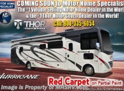 New 2019 Thor Motor Coach Hurricane 34J Class A Bunk House RV for Sale W/King Bed available in Alvarado, Texas