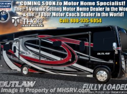 New 2019 Thor Motor Coach Outlaw 38MB Toy Hauler RV W/Garage Sofa, 3 Seasons Wall available in Alvarado, Texas