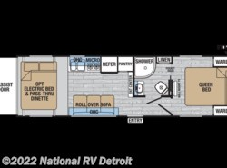 New 2017  Forest River XLR Hyper Lite 26HFS by Forest River from National RV Detroit in Belleville, MI
