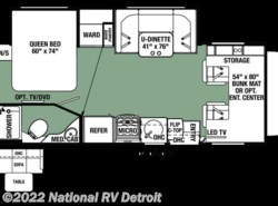 New 2017  Forest River Forester MBS 2401W by Forest River from National RV Detroit in Belleville, MI