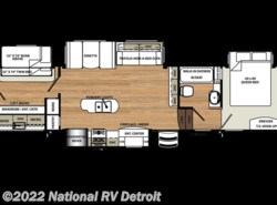 New 2017  Forest River Sandpiper 383RBLOK by Forest River from National RV Detroit in Belleville, MI