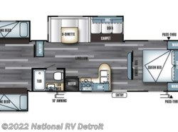 New 2017  Forest River Salem 31KQBTS by Forest River from National RV Detroit in Belleville, MI