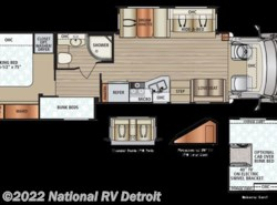 New 2018  Dynamax Corp DX3 37BH by Dynamax Corp from National RV Detroit in Belleville, MI