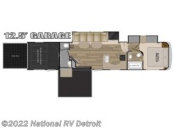 New 2018  Heartland RV Road Warrior RW427 by Heartland RV from National RV Detroit in Belleville, MI