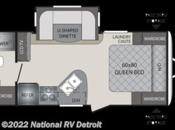 New 2018  Keystone Premier 19FBPR by Keystone from National RV Detroit in Belleville, MI