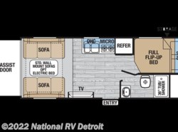 New 2018  Forest River XLR Hyper Lite 18HFS by Forest River from National RV Detroit in Belleville, MI