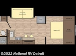 New 2018  CrossRoads Sunset Trail Super Lite 222RB by CrossRoads from National RV Detroit in Belleville, MI