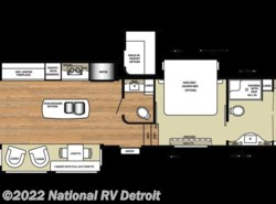 New 2018  Forest River Riverstone Legacy 38FB by Forest River from National RV Detroit in Belleville, MI