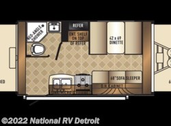 New 2018  Palomino Solaire eXpandables 147X by Palomino from National RV Detroit in Belleville, MI