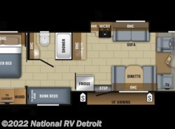 New 2018  Jayco Greyhawk Prestige 31FSP by Jayco from National RV Detroit in Belleville, MI