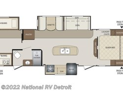 New 2017  Keystone Bullet 311BHS by Keystone from National RV Detroit in Belleville, MI