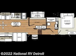New 2018  Forest River Sandpiper 372LOK by Forest River from National RV Detroit in Belleville, MI
