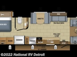 New 2018  Jayco Greyhawk Prestige 29MVP by Jayco from National RV Detroit in Belleville, MI