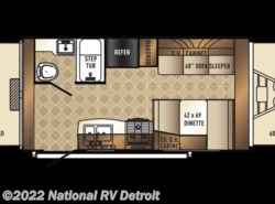 New 2018  Palomino Solaire eXpandables 163X by Palomino from National RV Detroit in Belleville, MI