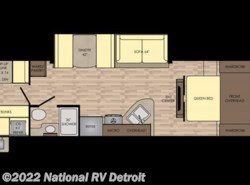 New 2018  CrossRoads Sunset Trail Super Lite 289QB by CrossRoads from National RV Detroit in Belleville, MI