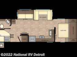 New 2018  CrossRoads Zinger ZR280BH by CrossRoads from National RV Detroit in Belleville, MI