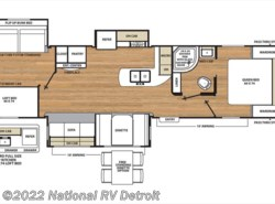New 2018  Coachmen Catalina Legacy Edition 333BHTS CK by Coachmen from National RV Detroit in Belleville, MI