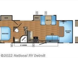 New 2018  Jayco Greyhawk 31DS by Jayco from National RV Detroit in Belleville, MI