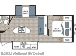 New 2018  Dutchmen Kodiak Ultra Lite 253RBSL by Dutchmen from National RV Detroit in Belleville, MI