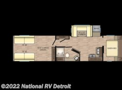 New 2018  CrossRoads Zinger ZR338RR by CrossRoads from National RV Detroit in Belleville, MI